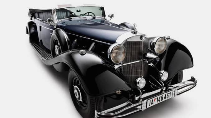 Hitler's wartime Mercedes car to be sold in Scottsdale, Arizona