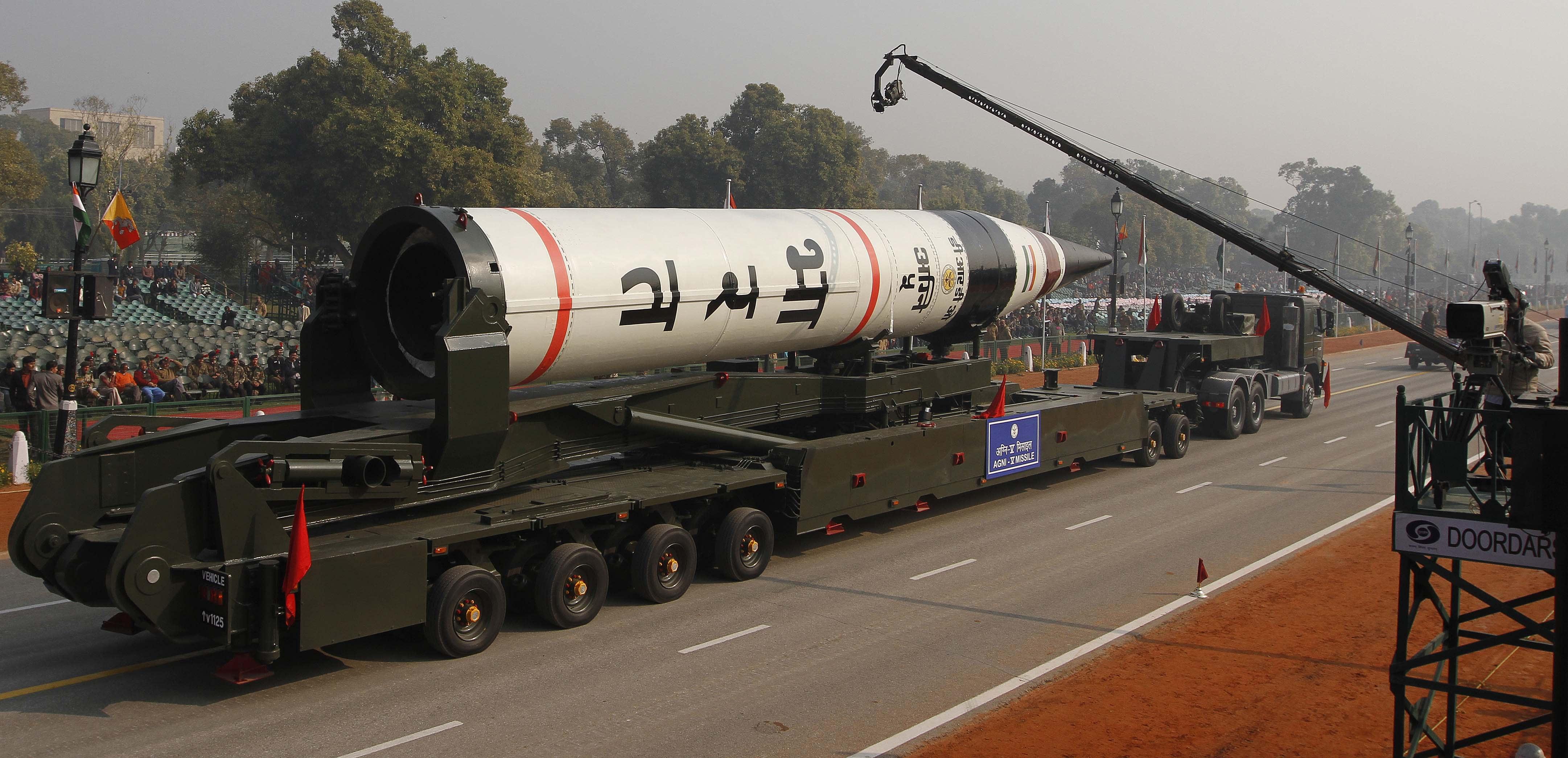 intercontinental ballistic missile india - HD4323×2089