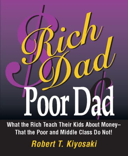 One time use: Rich Dad Poor Dad book cover