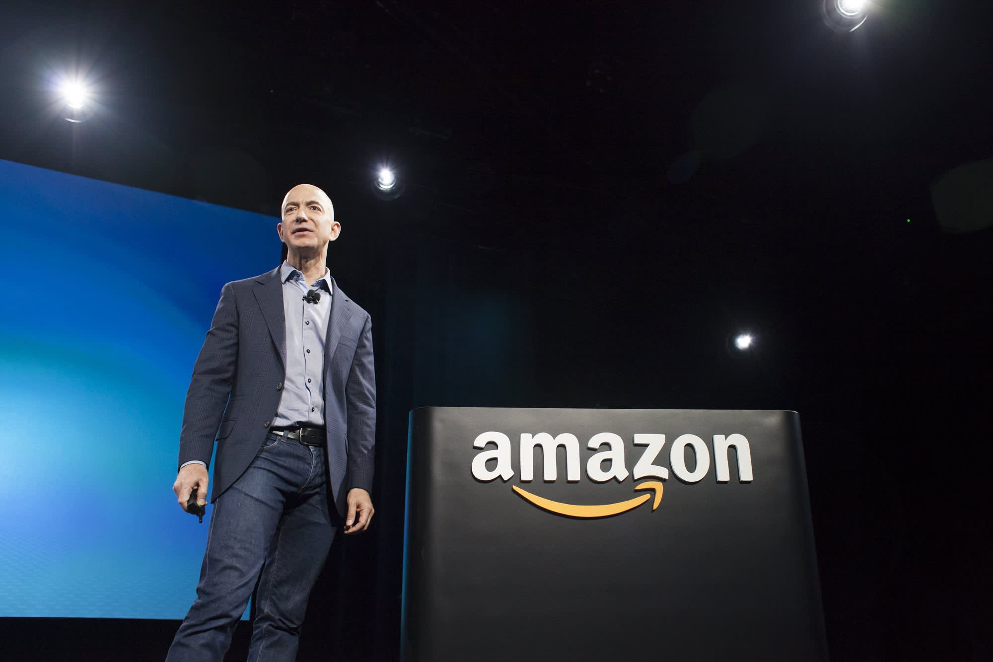 Jeff Bezos: When you find a business opportunity with these traits, 'don't just swipe right, get married'