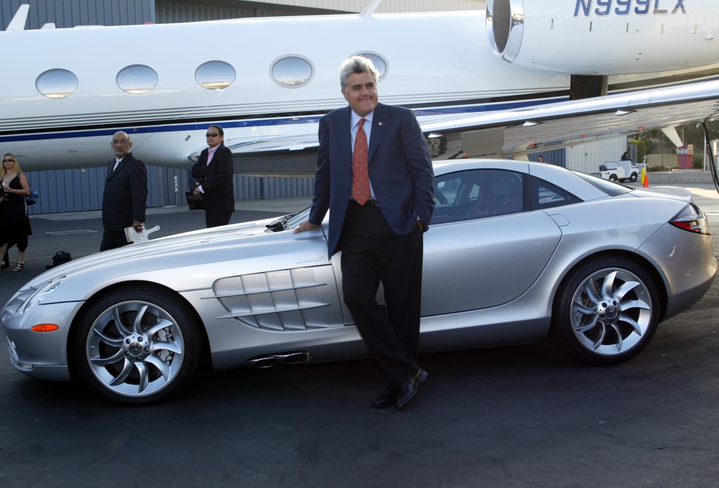 How many cars does Jay Leno have and how much are they worth?