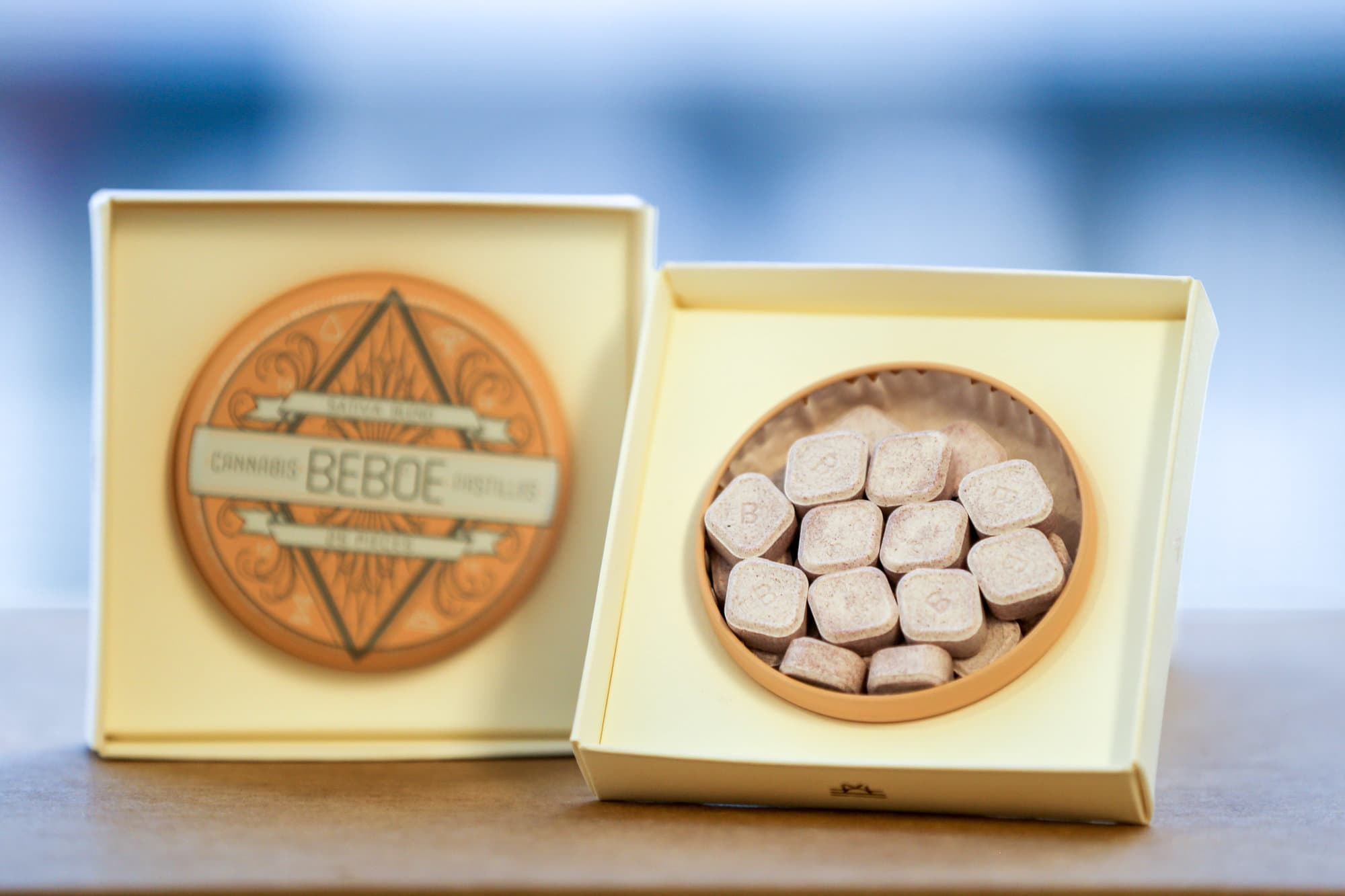 Beboe Luxury Cannabis Products : Edible Pastilles