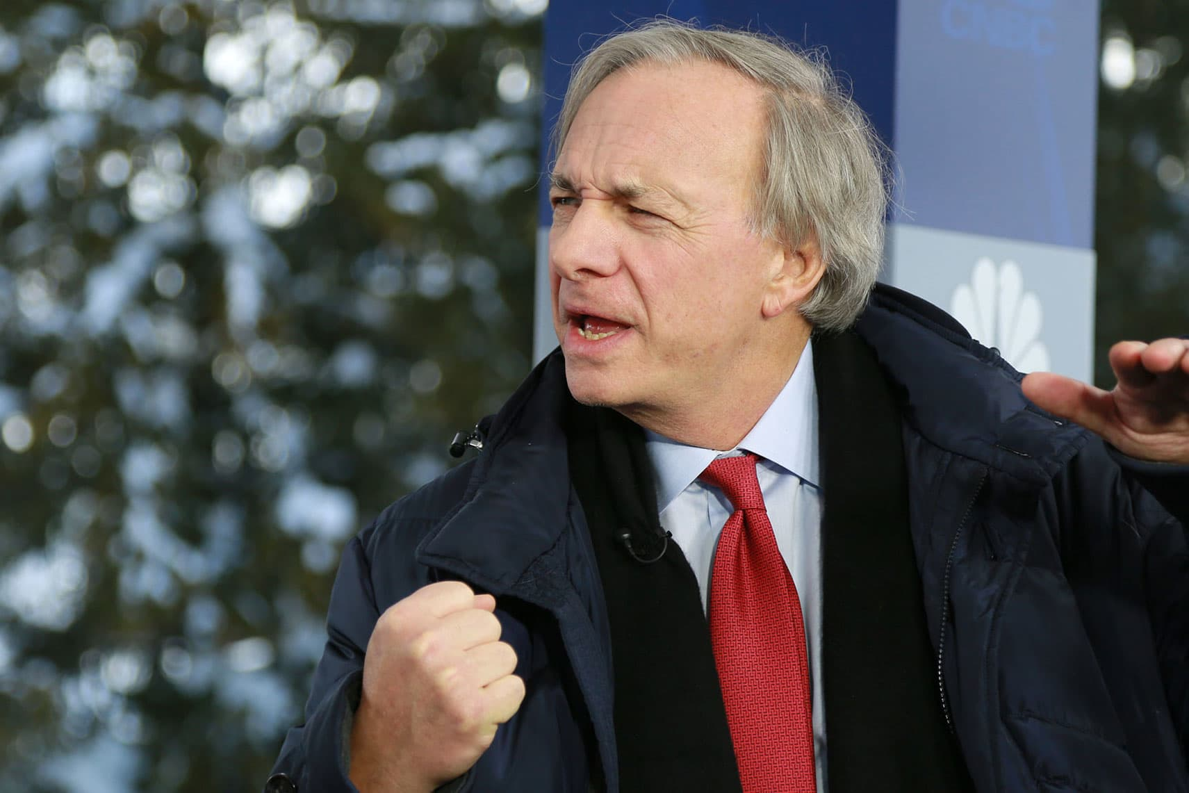 World's largest hedge fund is reportedly betting on a sell-off, but founder Ray Dalio denies it