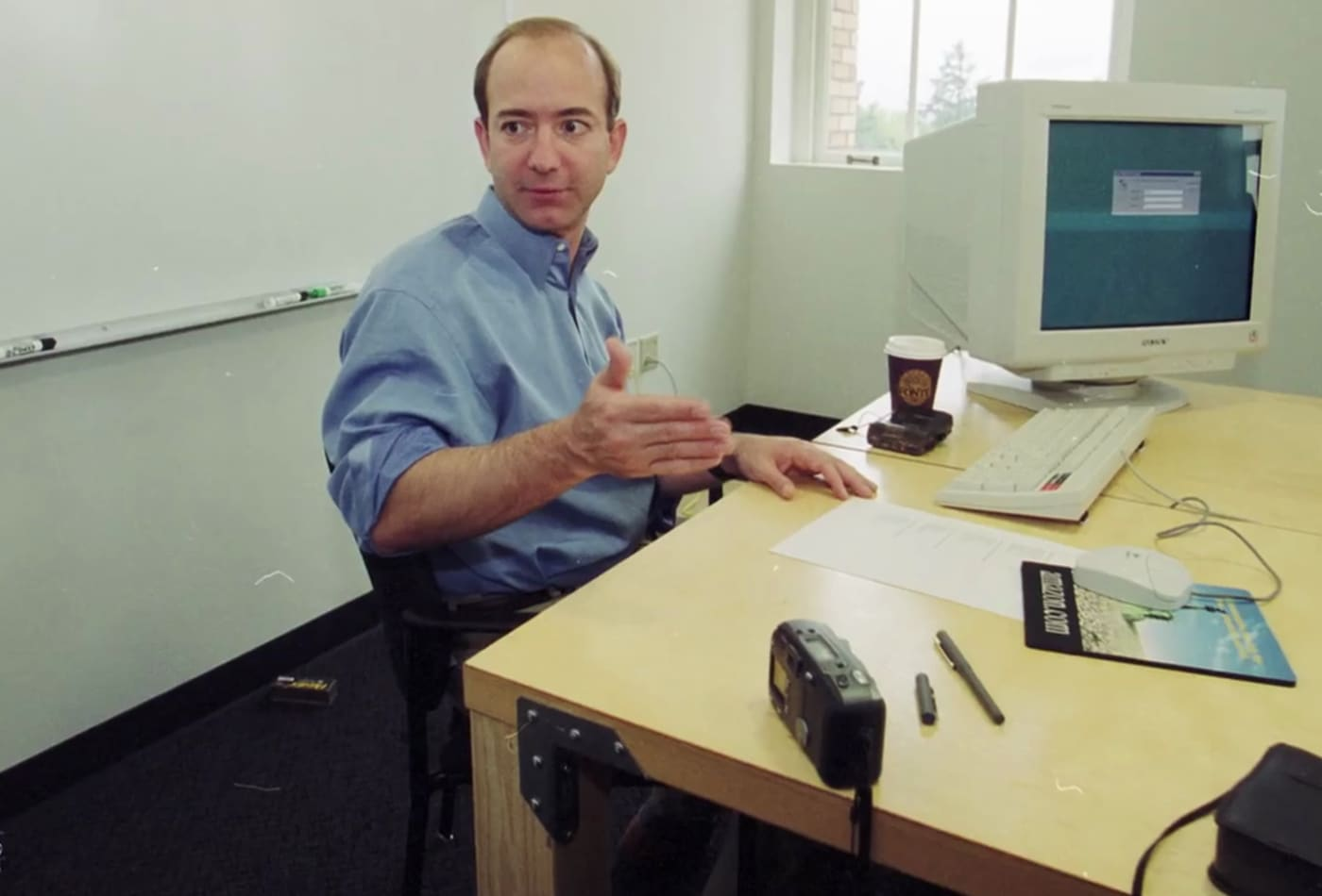 Jeff Bezos First Desk At Amazon Was Made Of A Wooden Door