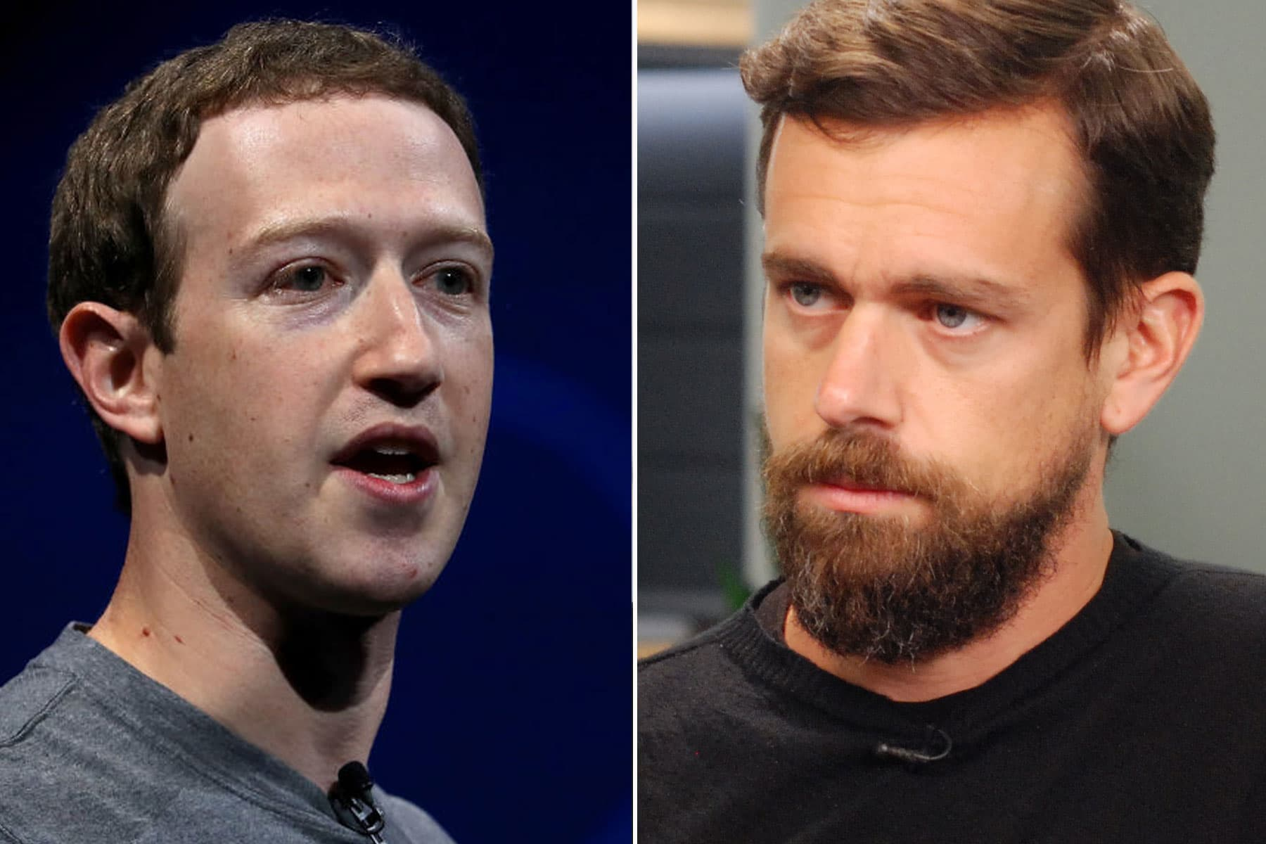 Mark Zuckerberg vs. Jack Dorsey is the most interesting battle in Silicon Valley - CNBC