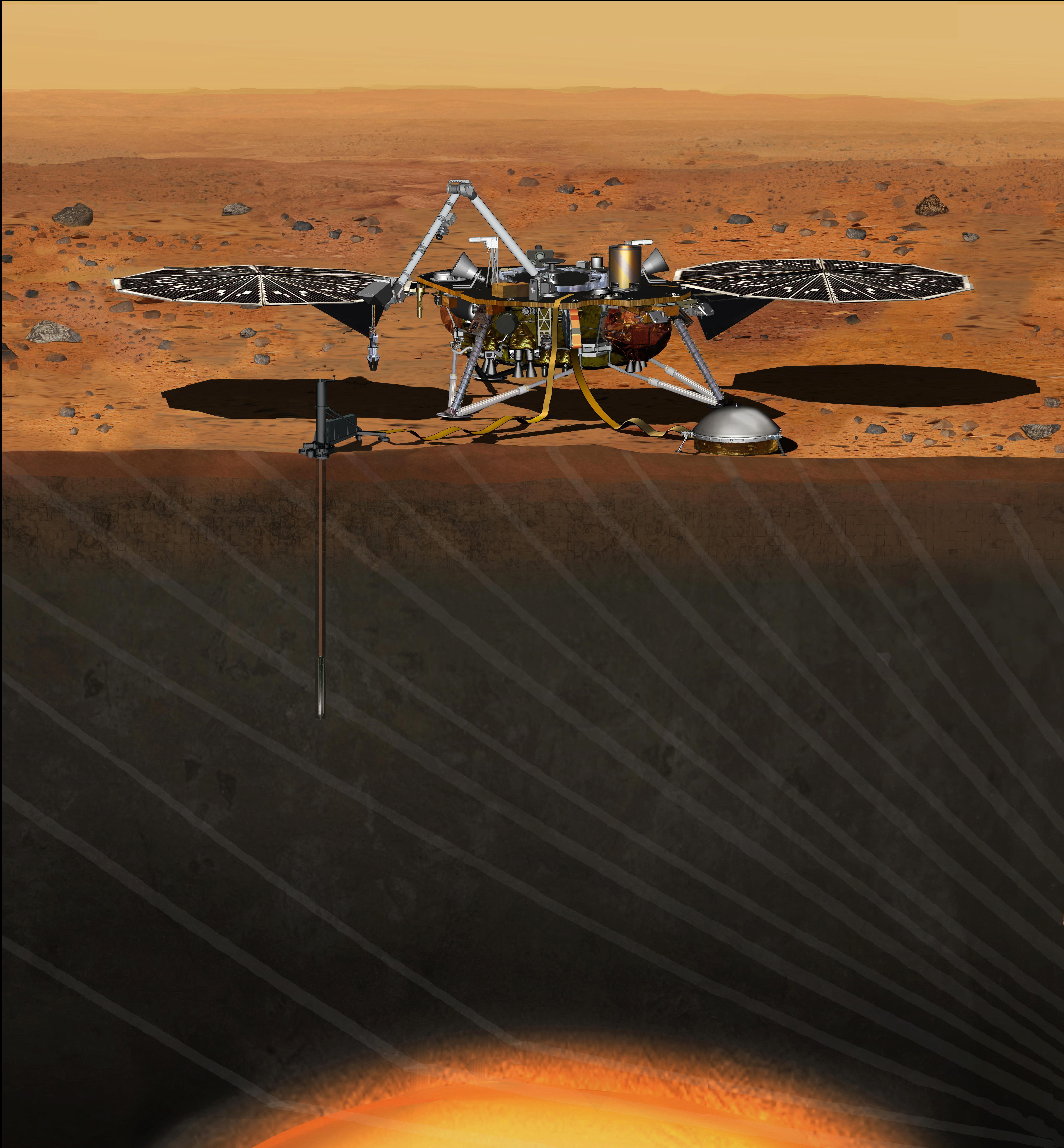 HANDOUT robot going to Mars