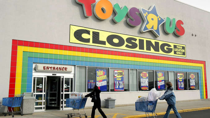More Toys R Us stores went up for sale  Here's what's moving in