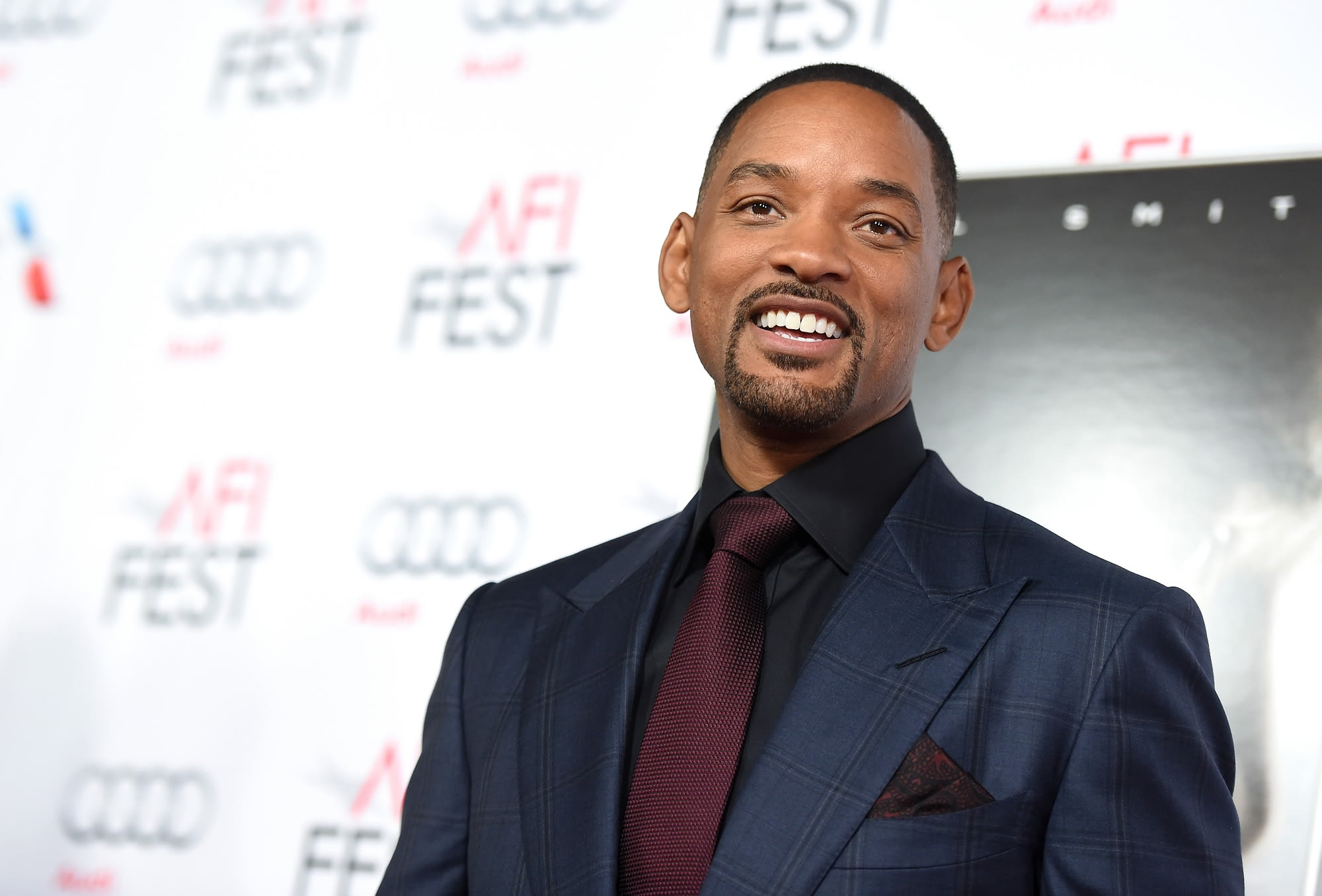 Sub: Will Smith Red Carpet 20151110