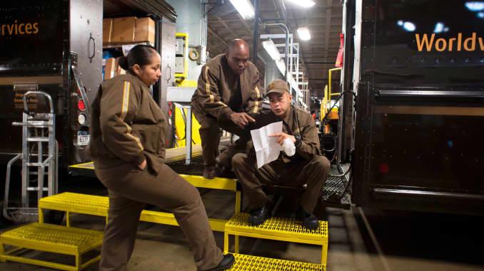 Premium: UPS United Parcel Service drivers 170509