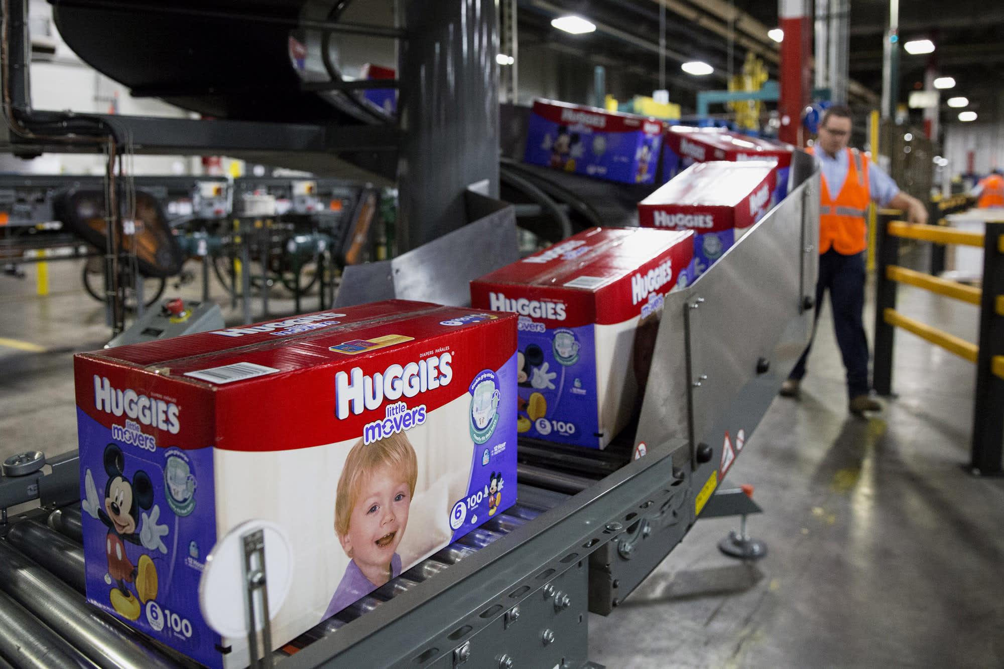 US-China trade war not hurting diaper maker Kimberly-Clark, CEO says