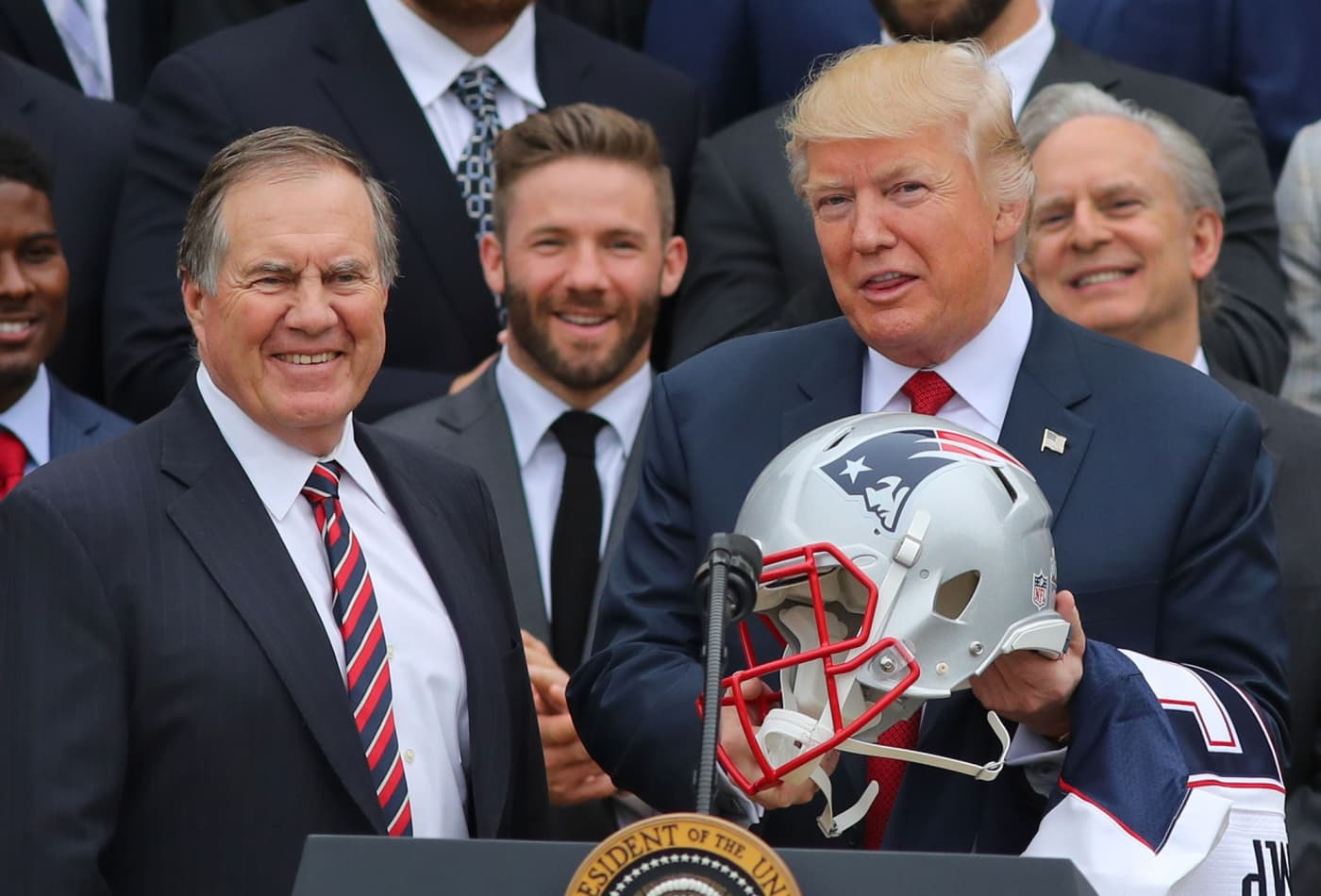 698088e1d How Donald Trump influenced #AGoodGame Super Bowl charity initiative