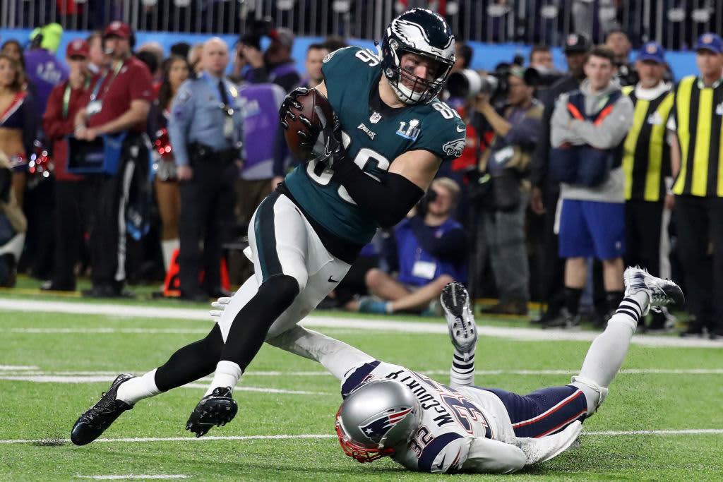 New England Patriots Philadelphia Eagles Winner