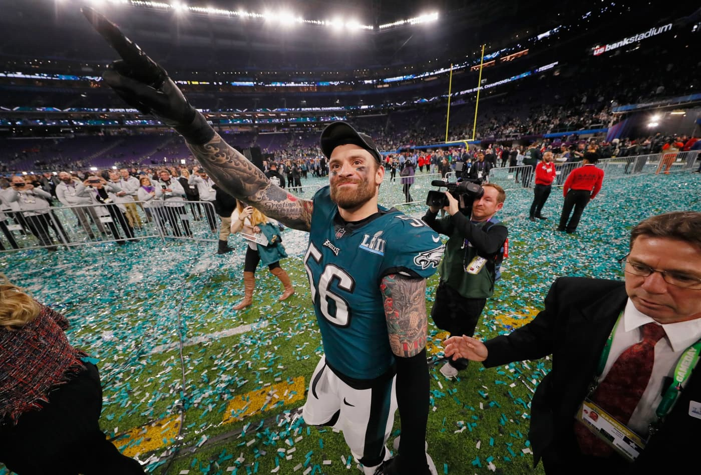 52d6746eedb Why Super Bowl winner Chris Long donated his entire 2017 salary to charity