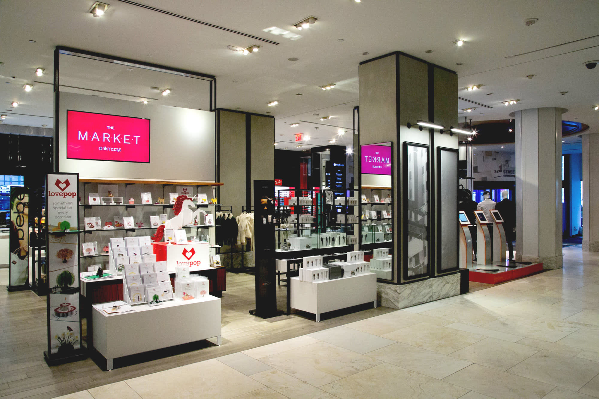 cade787d3 Macy's teams with Facebook to bring new brands to pop-up shops for the  holidays