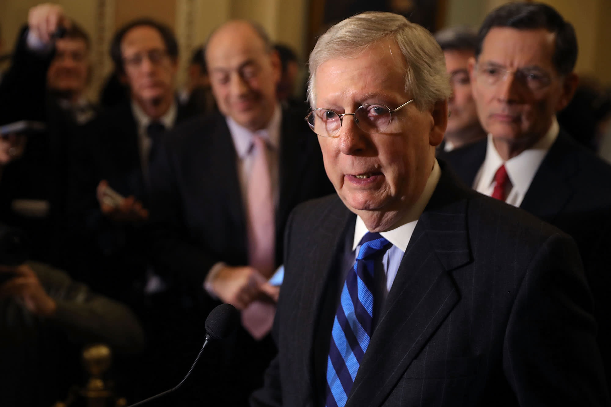 Senate leaders reach funding deal as shutdown looms