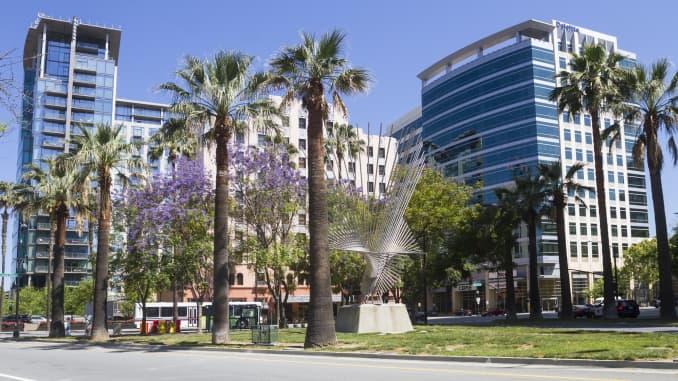Premium: San Jose downtown business district