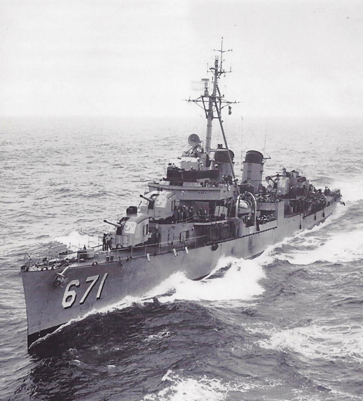USS Gatling ship Korean War vets 180209