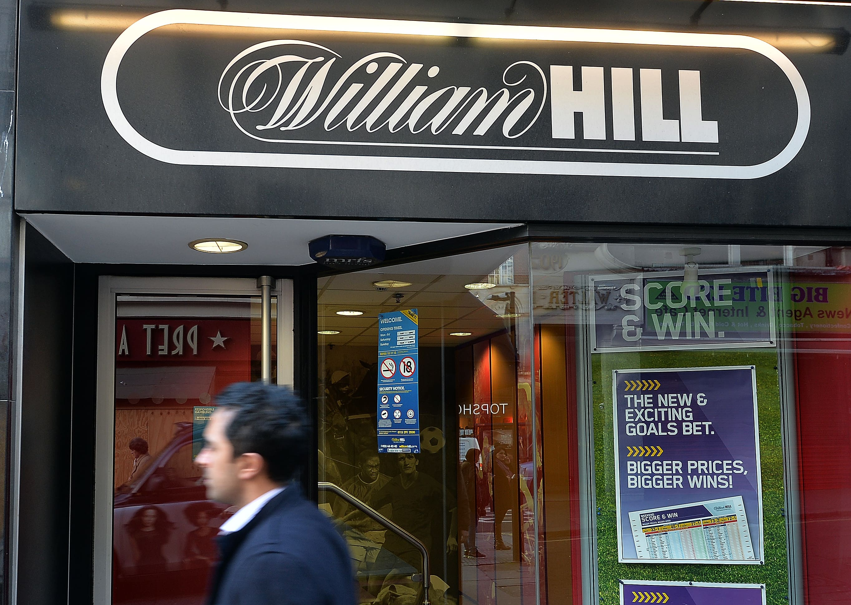 UK bookmaker William Hill fined for money laundering failures