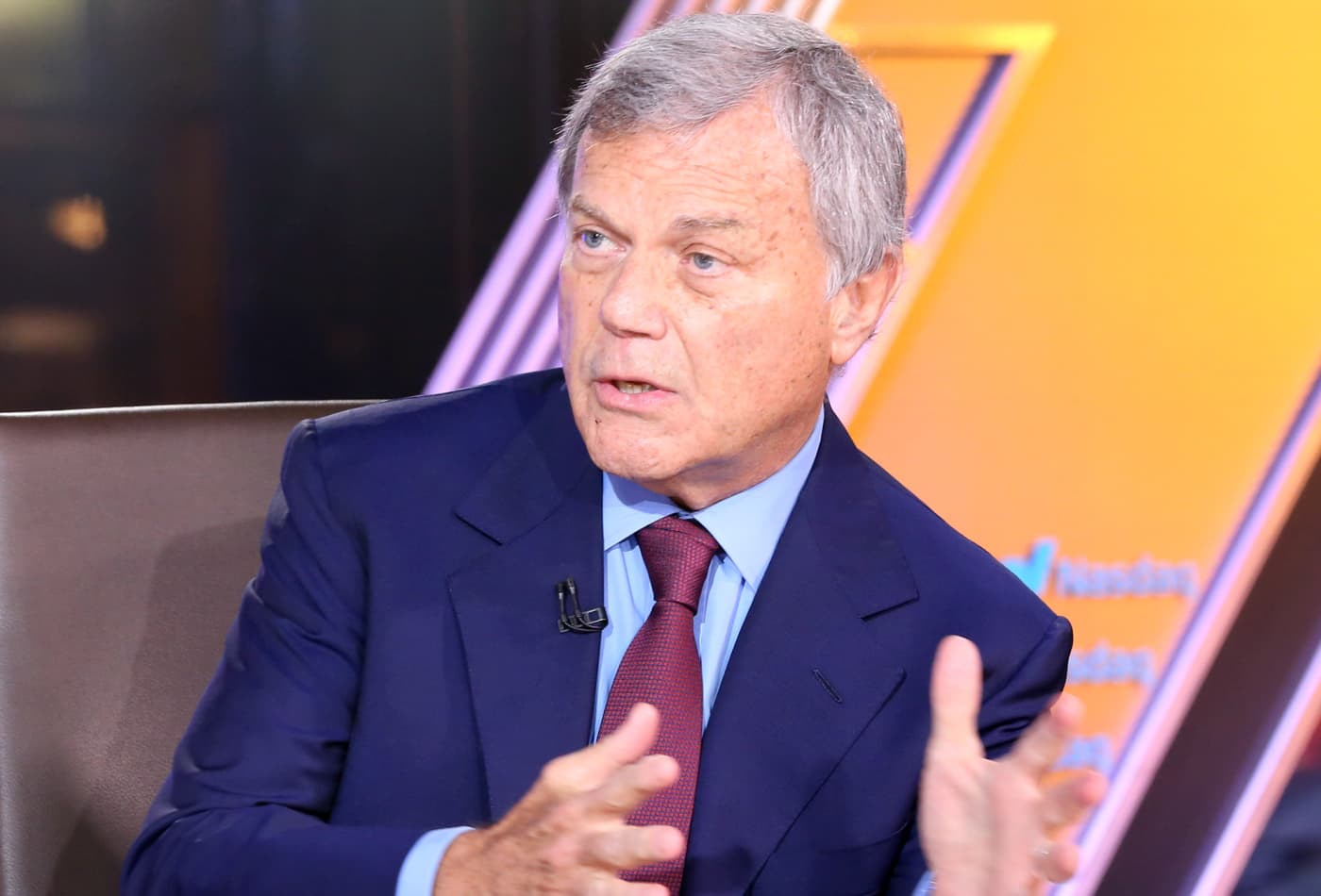 A 'fearsome seven' of major tech firms are changing the media industry forever, WPP CEO Martin Sorrell says