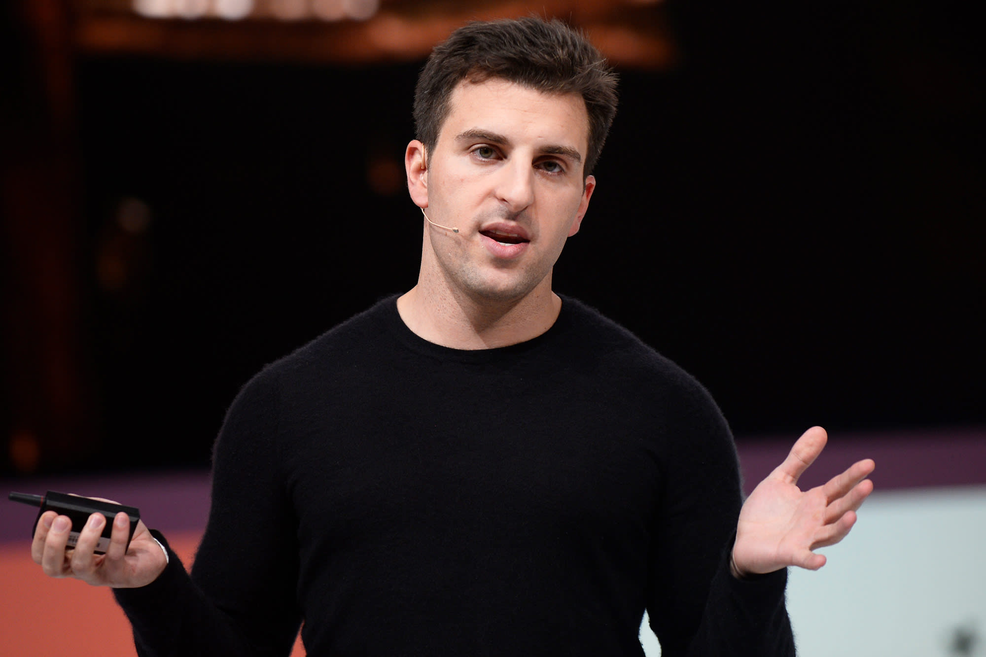 Watch Airbnb co-founder and CEO Brian Chesky speak live