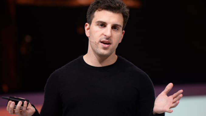 Airbnb CEO Brian Chesky.