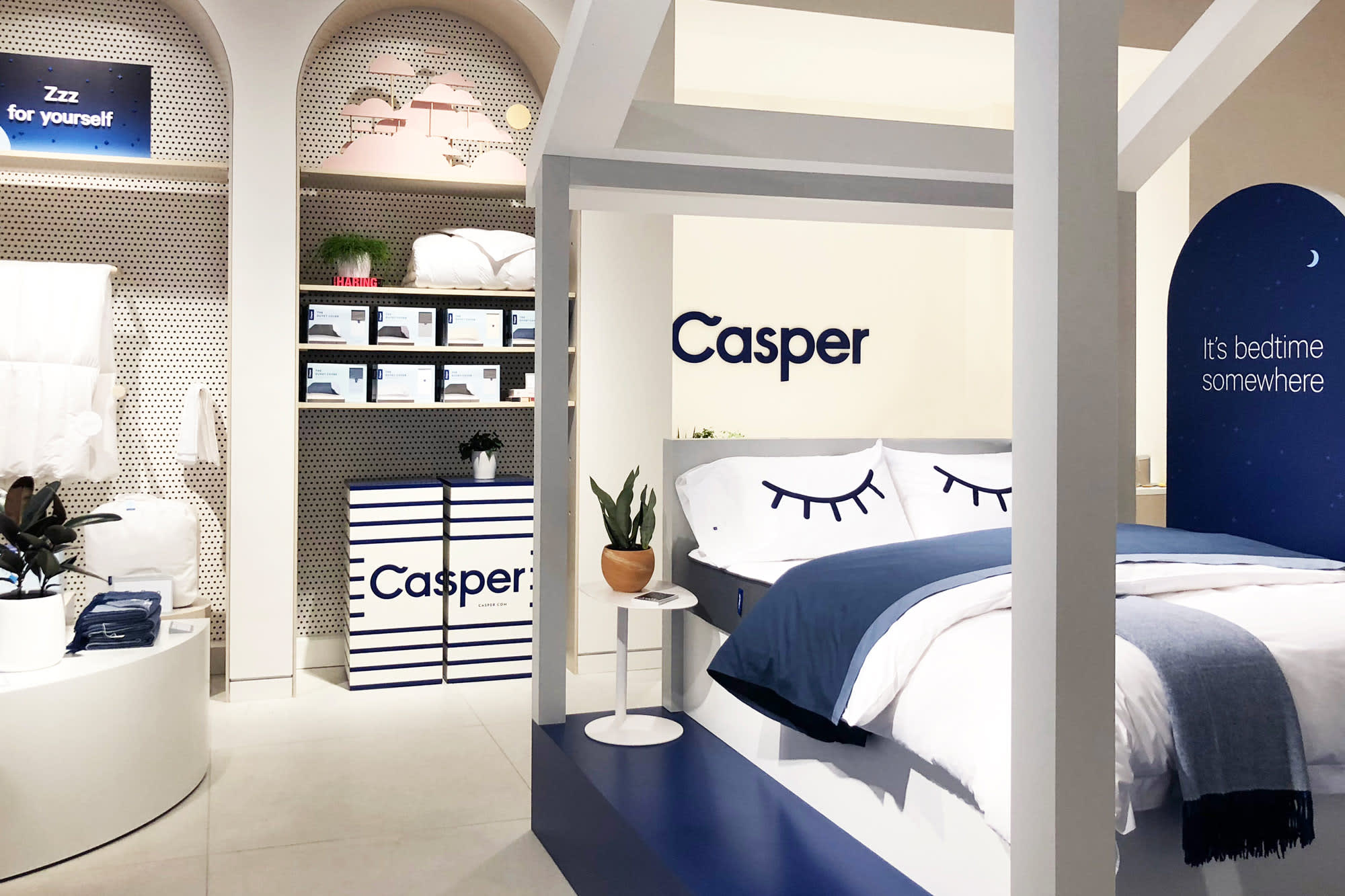 Casper Just Opened Its First Mattress Store Here S What It Looks Like