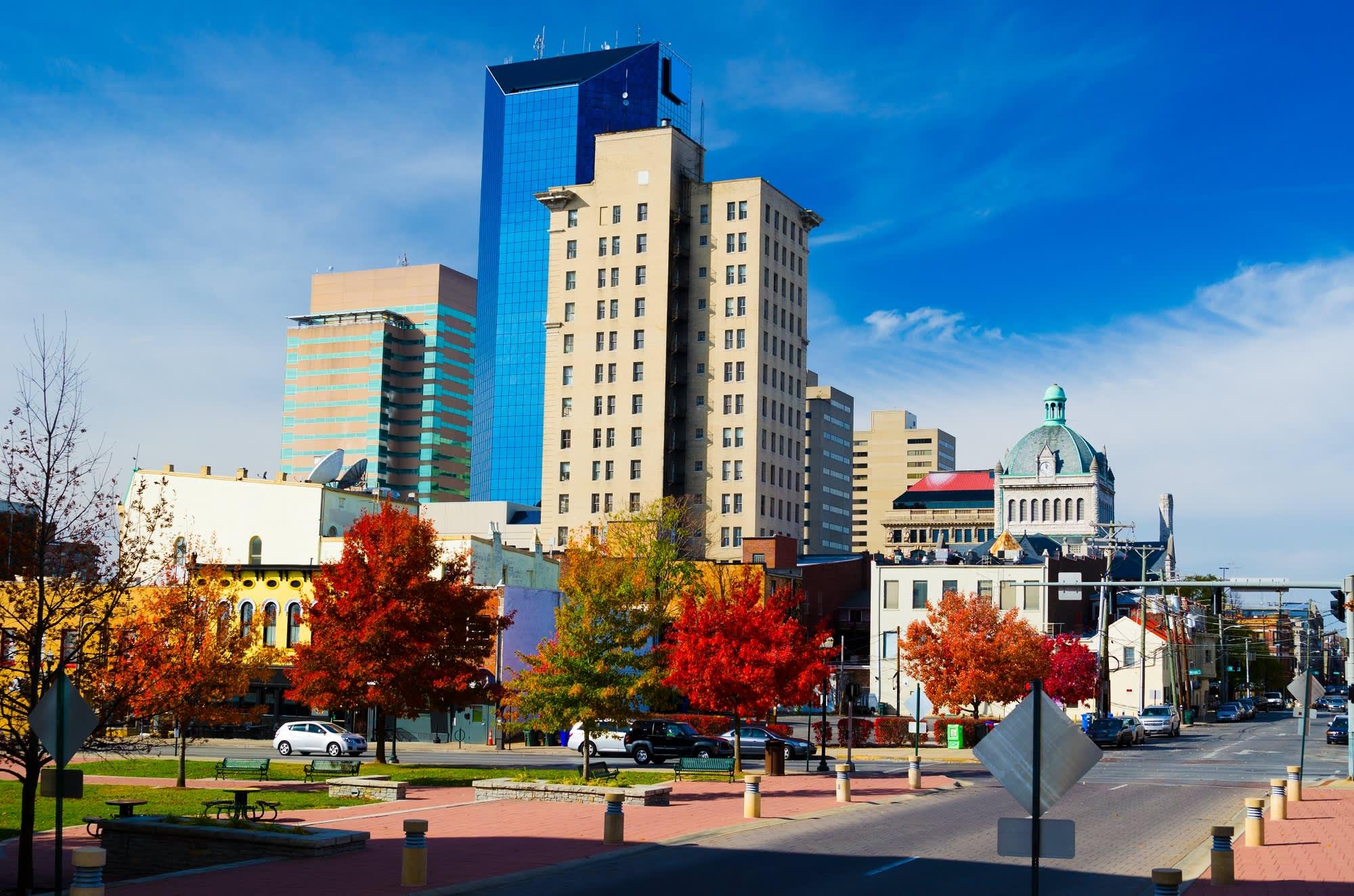Premium: Lexington Kentucky skyline