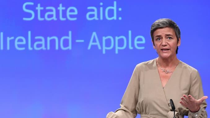 EU Commissioner for Competition Margrethe Vestager.