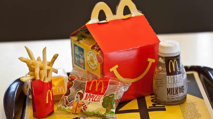 Here's how McDonald's Happy Meals have changed over the years