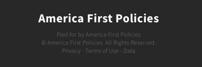 ONE TIME USE: America First Policies