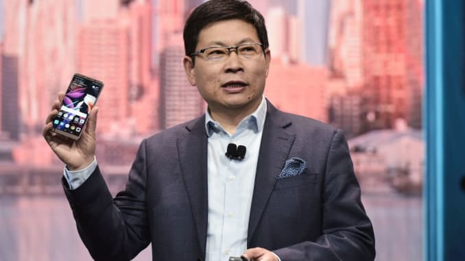 Huawei distances itself after top executive goes off script