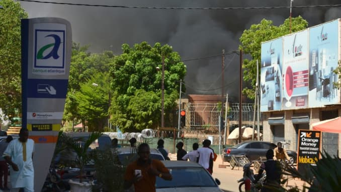 Premium: Burkina FASO attack