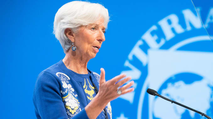 IMF's Lagarde: Trade tensions are the biggest risk for the