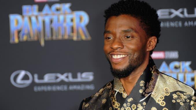 "Ngôi sao ""Black Panther"" Chadwick Boseman"