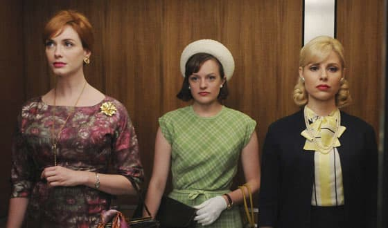A scene from AMC's Mad Men.