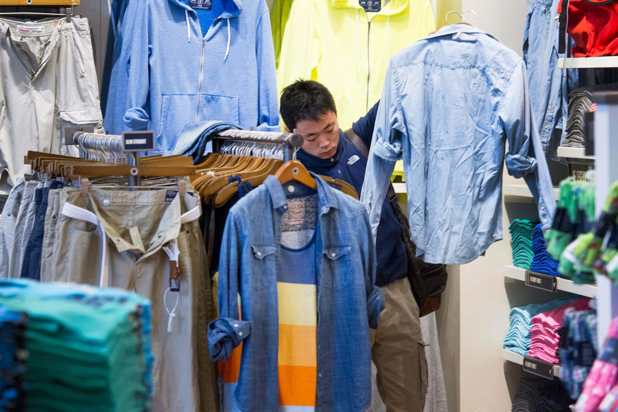 US retail sales rose solidly in July in a sign of consumer optimism