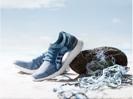 Adidas sold 1 million shoes made out of ocean plastic in 2017