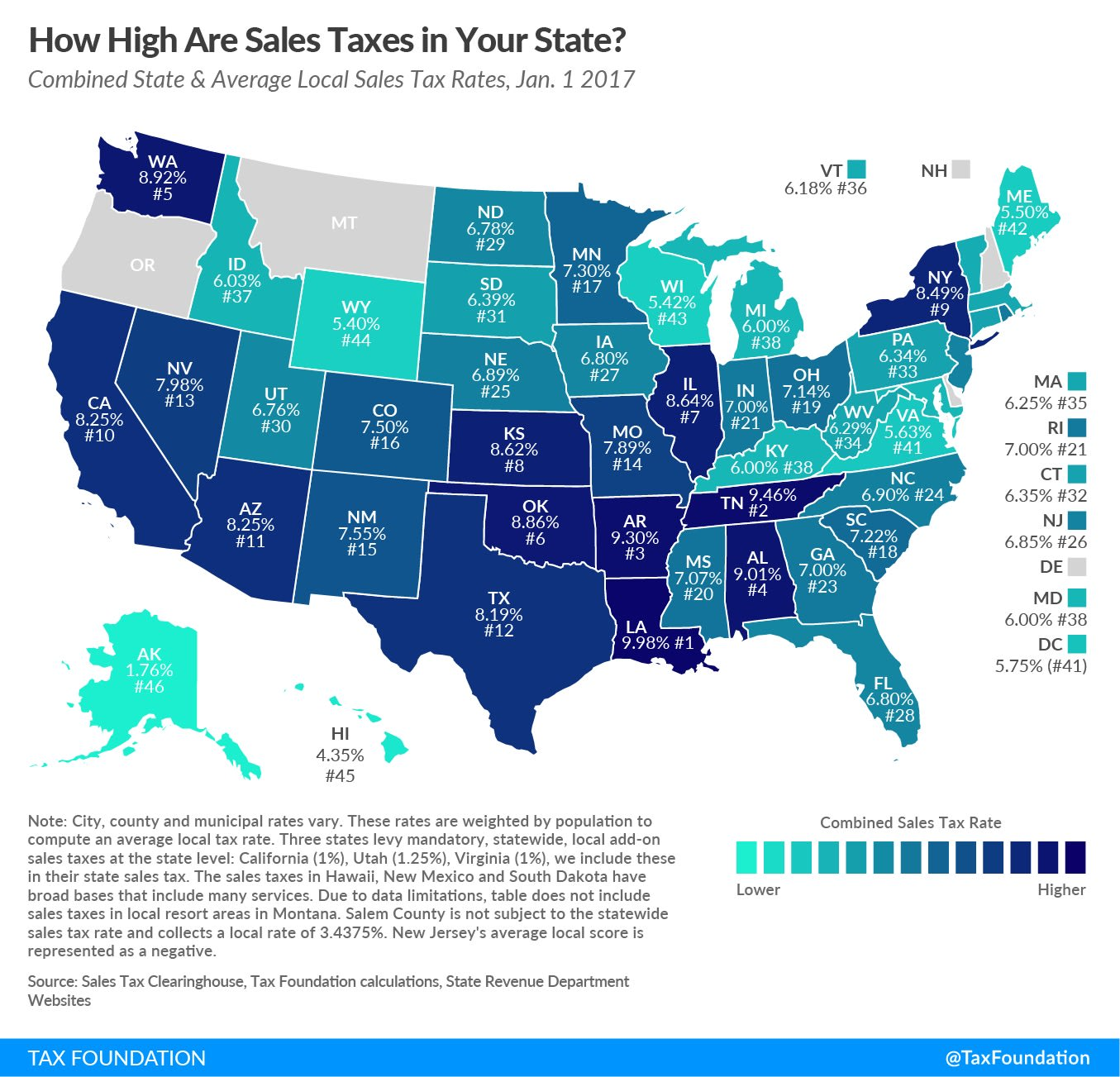 State sales tax map 180314 EC MERCADO