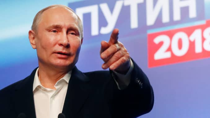 Putin Wins Election But Has Battle To Win Back The Young Generation