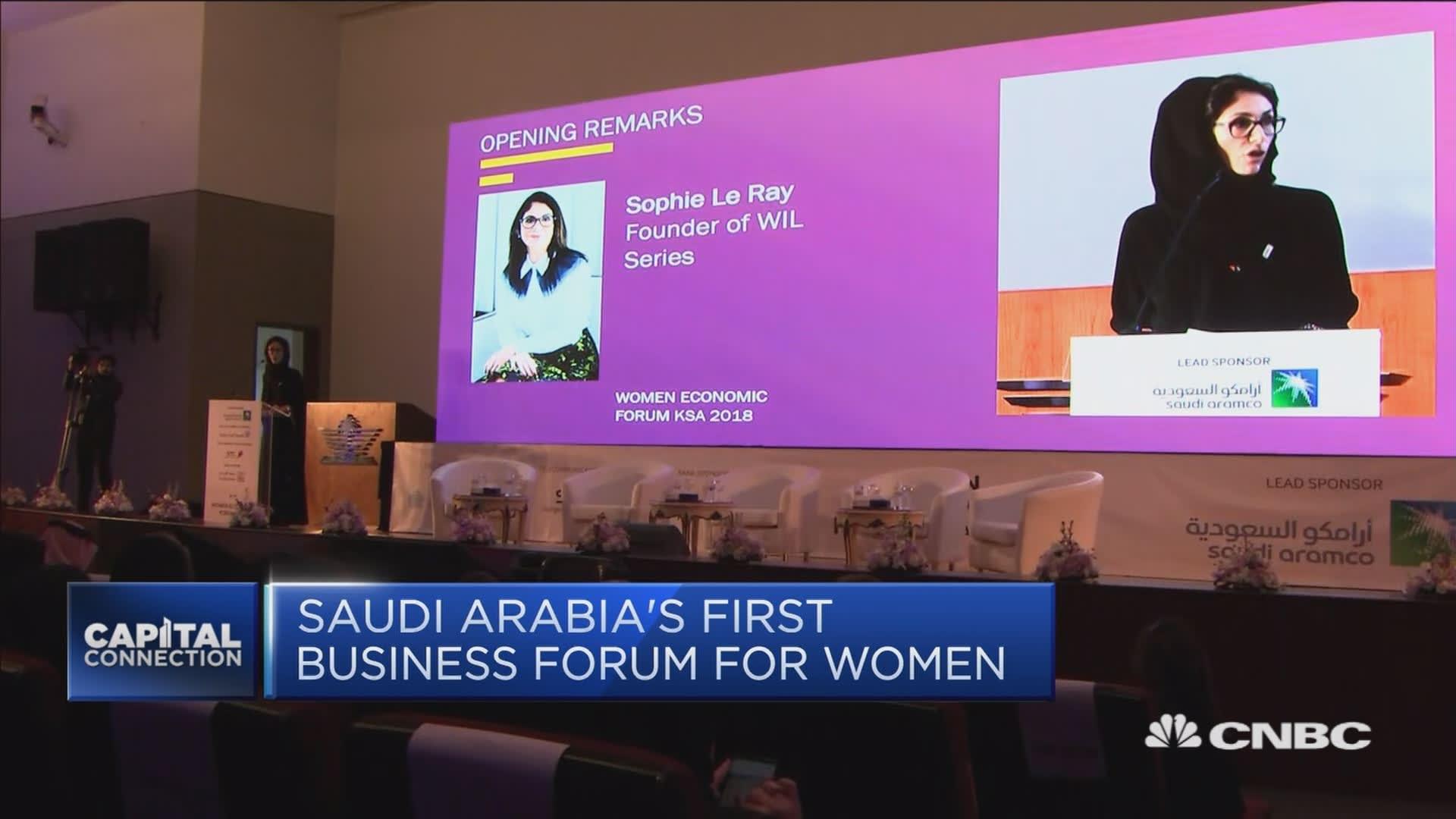 Saudi Arabia Women in Leadership forum to drive workplace reforms
