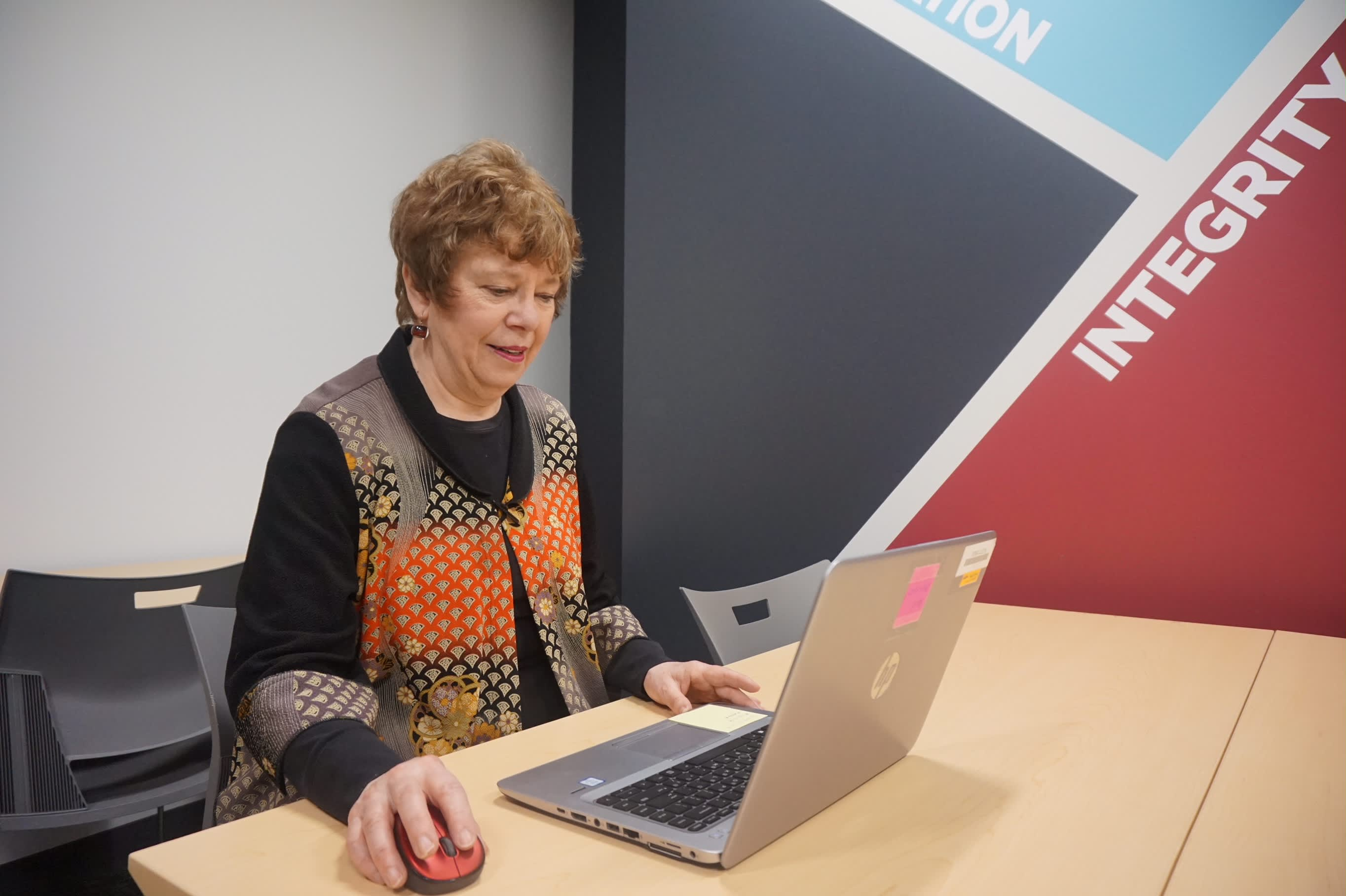 At age 61, Michele Meagher was hired as a corporate communications specialist by Tufts Health Plan. She is part of a fast-growing segment of those remaining in the workplace well into their golden years.