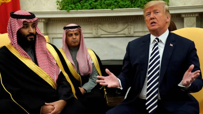 US threatens to topple Saudi Arabia as world's top oil