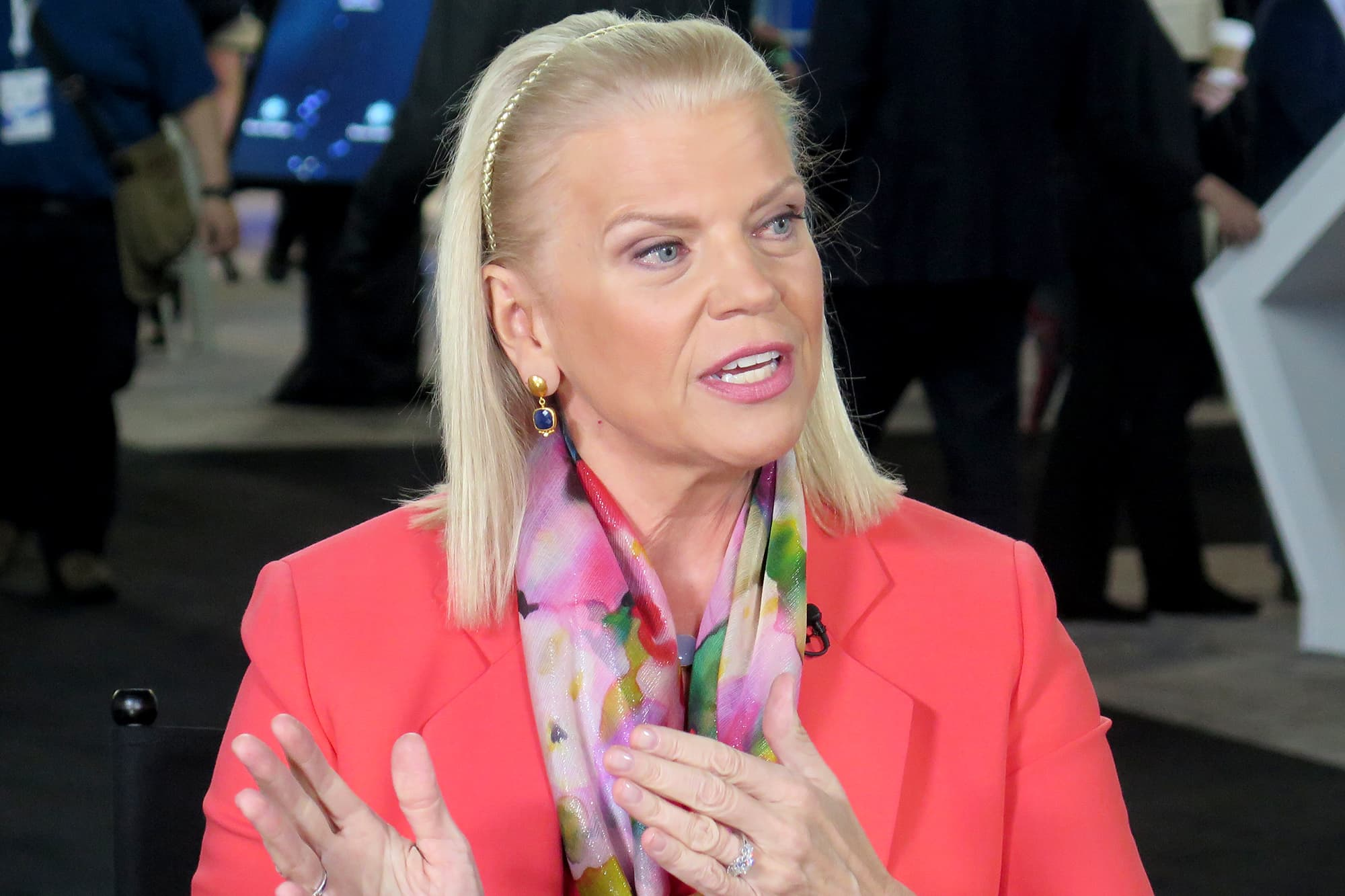 IBM CEO Ginni Rometty calls consumer tech companies 'irresponsible,' says they should be liable for misinformation