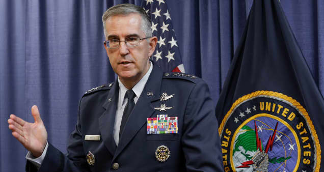 America's top nuclear commander nominated to become next vice chairman of the Joint Chiefs of Staff