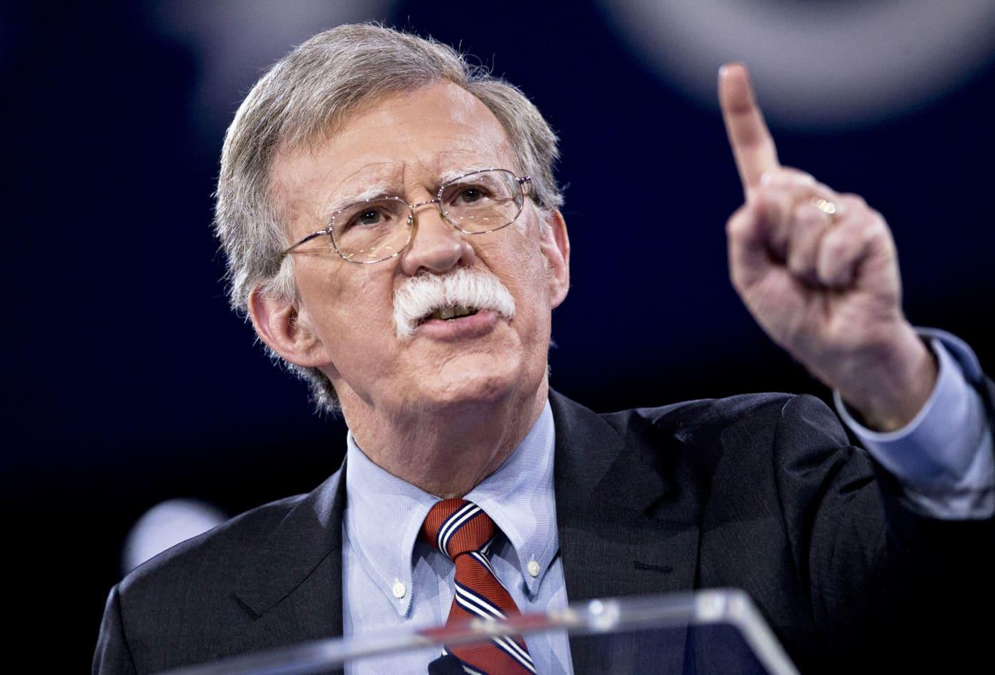 House Democrats ask John Bolton to testify in Trump impeachment probe on Nov. 7