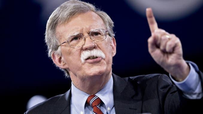 Democrats ask John Bolton to testify in impeachment inquiry