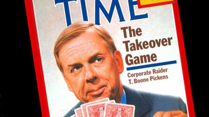 ONE TIME USE: T. Boone Pickens on TIME cover