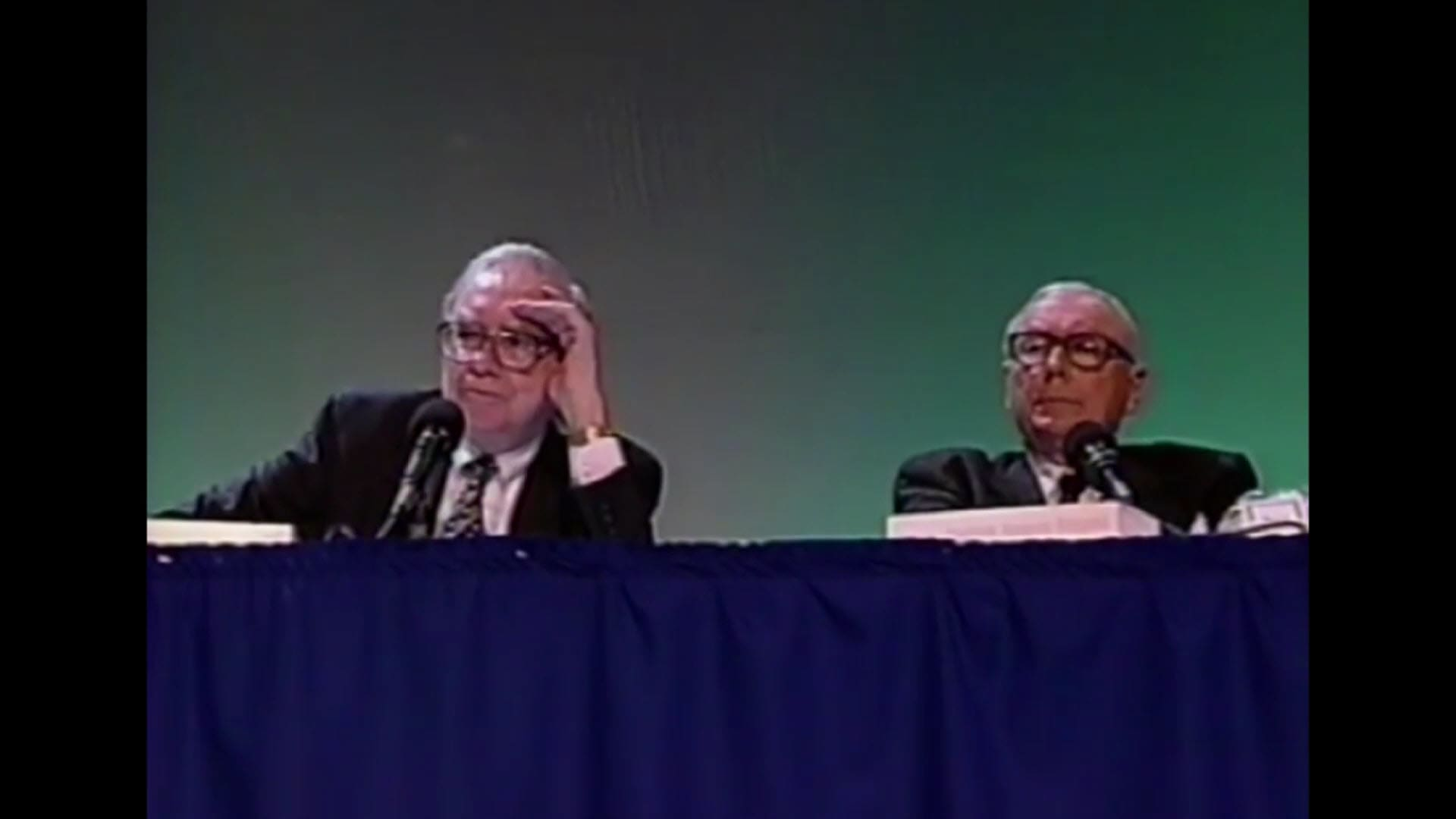 Afternoon Session - 1998 Berkshire Hathaway Annual Meeting