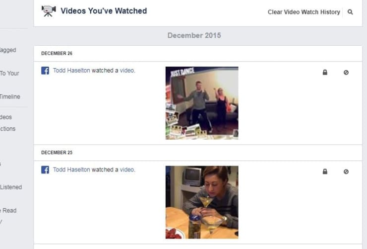 CNBC Tech: Facebook video history