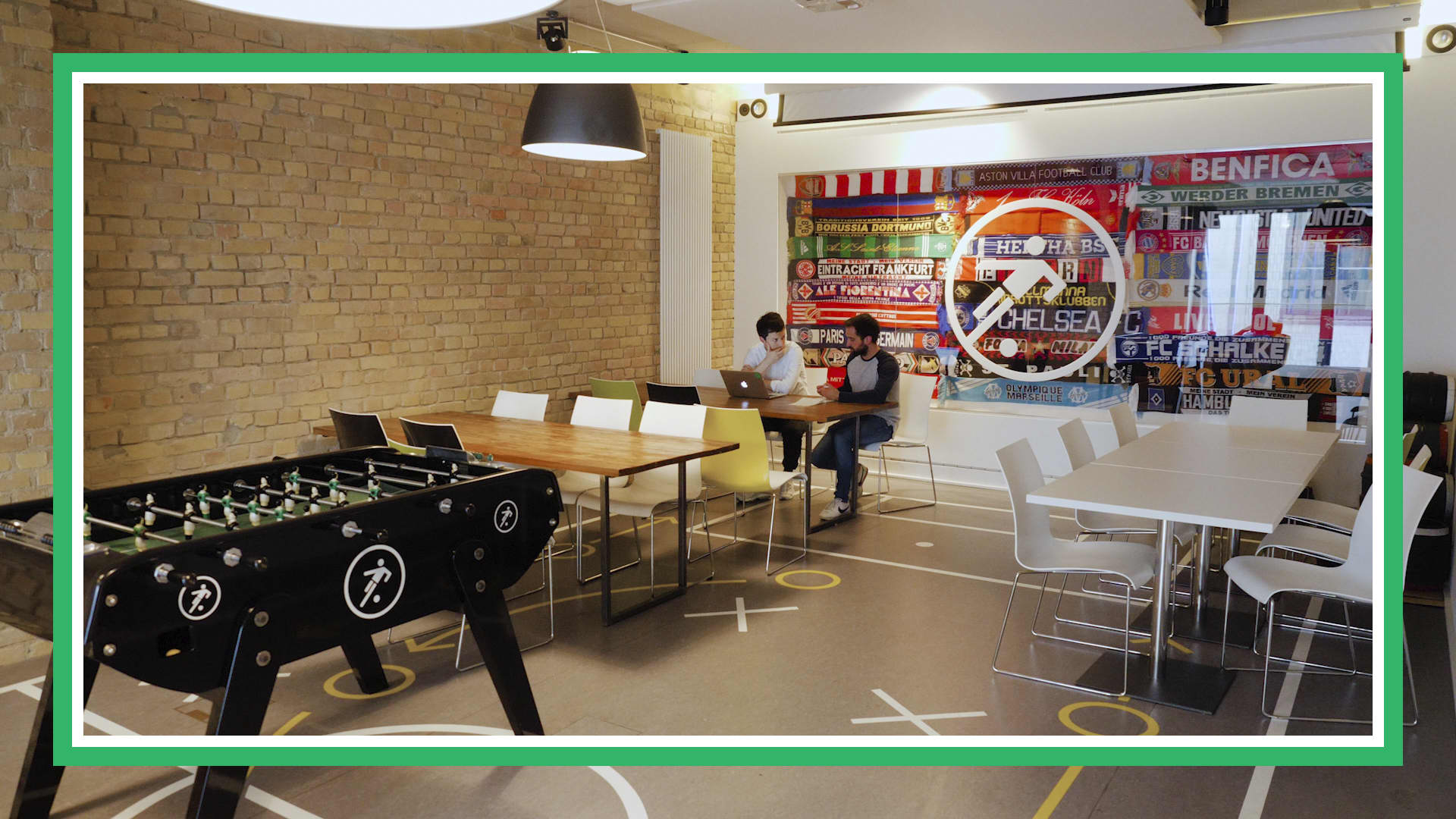 Inside Onefootball's Berlin office